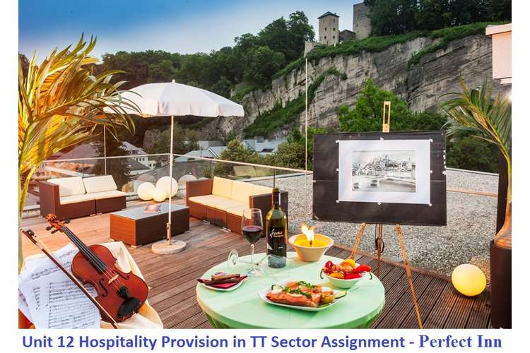 Unit 12 Hospitality Provision in TT Sector Assignment - Perfect Inn