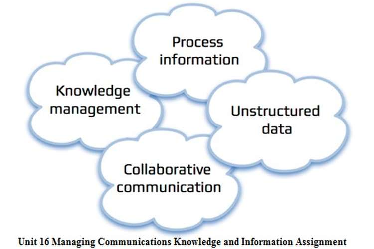 MANAGING COMMUNICATION, KNOWLEDGE AND INFORMATION