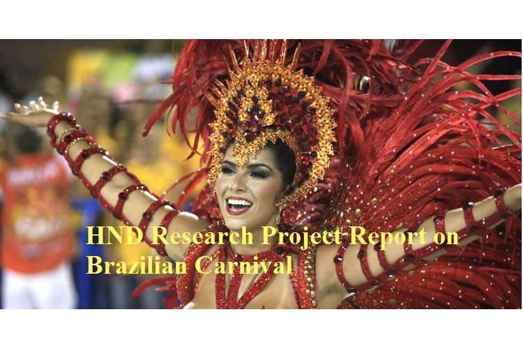 Research Project Report Brazilian Carnival