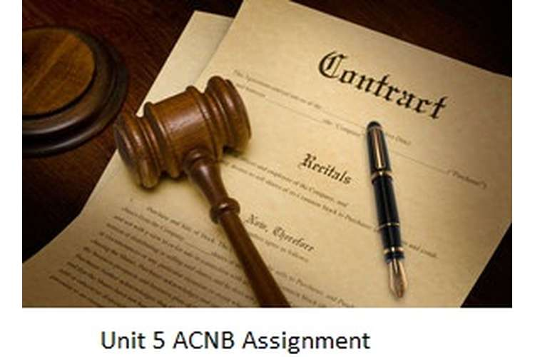 Unit 5 ACNB Assignment