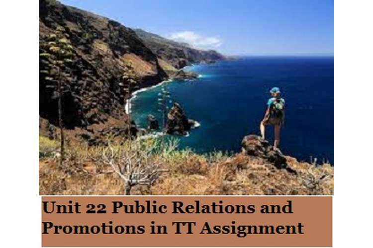 Public Relations and Promotions in TT Assignment