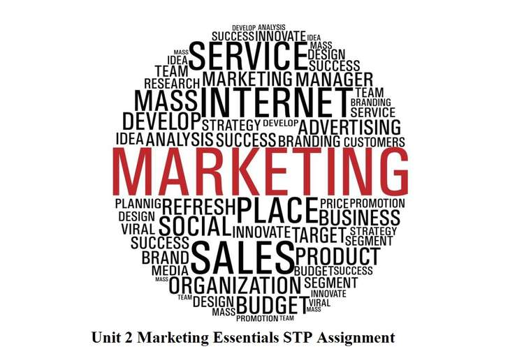 Unit 2 Marketing Essentials STP Assignment
