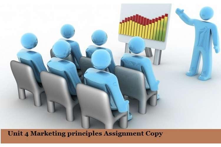 Marketing principles Assignment Copy