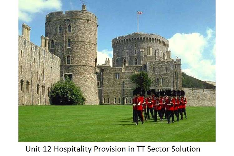 Unit 12 Hospitality Provision in TT Sector Solution