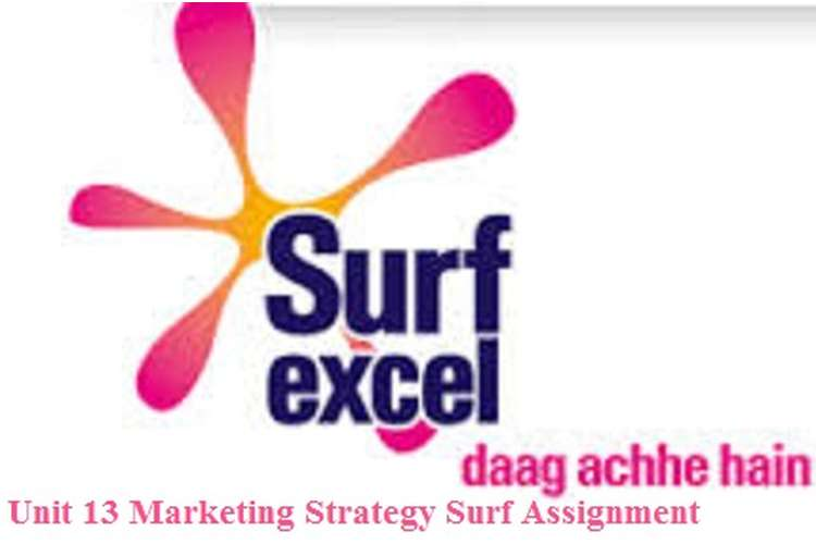 Unit 13 Marketing Strategy Surf Assignment