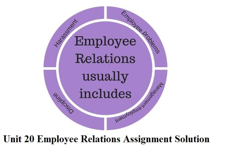 Unit 20 Employee Relations Assignment Solution