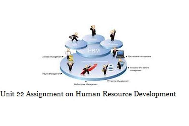 Unit 22 Assignment on Human Resource Development