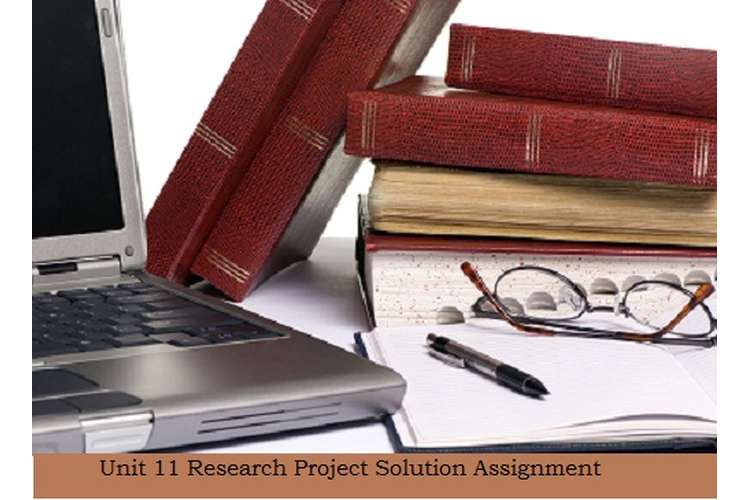 Research Project Solution Assignment