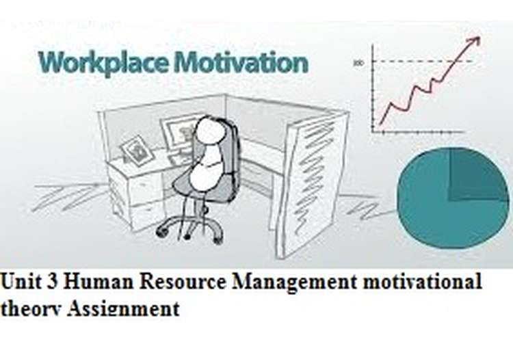 Unit 3 Human Resource Management Motivational Theory Assignment