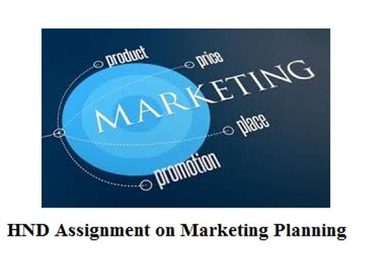 Assignment on Marketing Planning