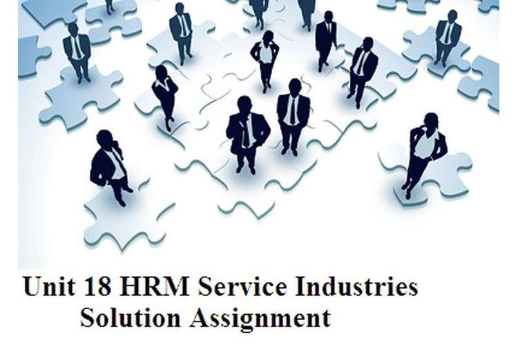 HRM Service Industries Solution Assignment
