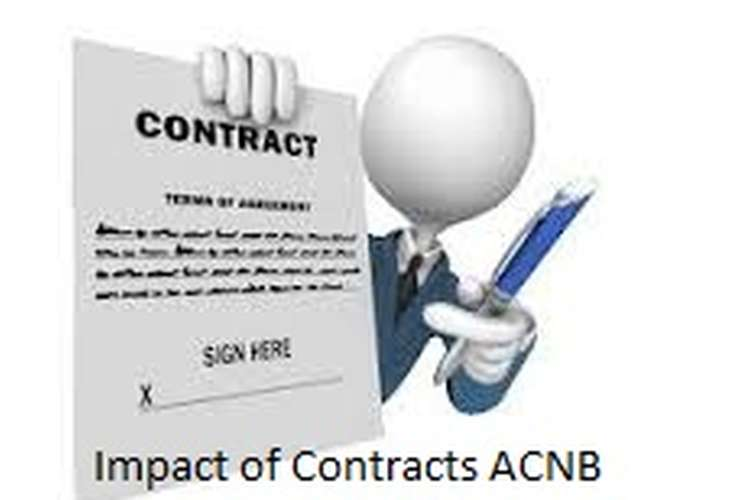 Unit 5 Impact of Contracts ACNB Assignment