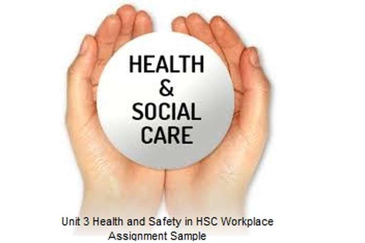 Unit 3 Health and Safety HSC Workplace Assignment Sample