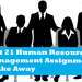 Unit 21 Human Resource Management Assignment Shake Away