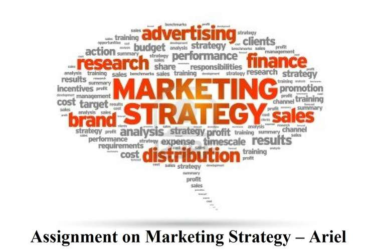 Assignment on Marketing Strategy – Ariel