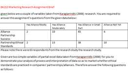 BK212 Marketing Research Assignment Brief