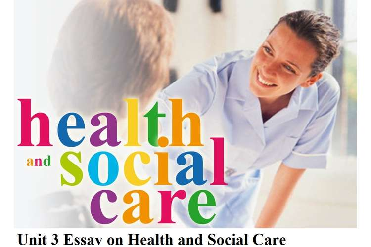 Unit 3 Essay on Health and Social Care Assignment