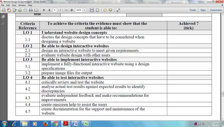 Taxi Website Design Assignment