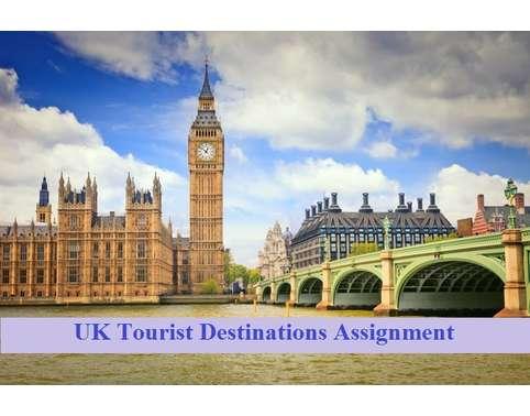 UK Tourist Destinations Assignment