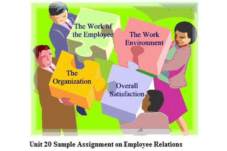 Unit 20 Sample Assignment on Employee Relations