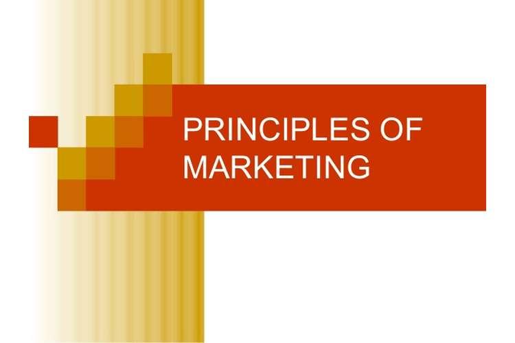 Marketing Principles Distinction Copy