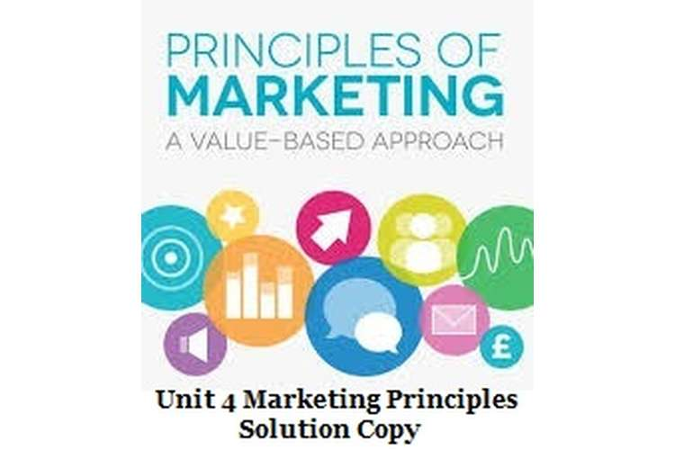 unit 4 marketing principles assignment Task 2: Be able to use the concepts of segmentation, targeting and positioning