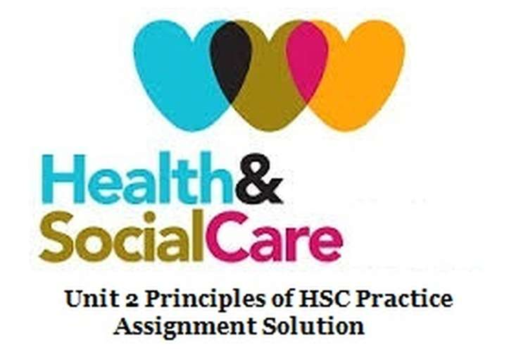 Unit 2 Principles of HSC Practice Assignment Solution