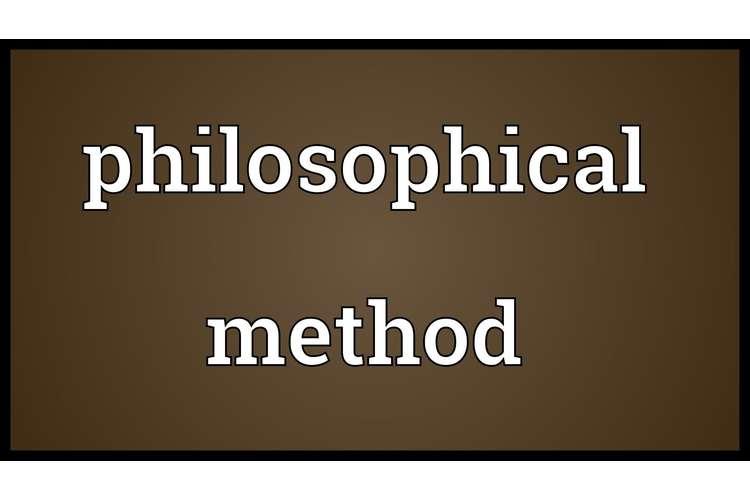 Philosophical Methodology Assignment Help