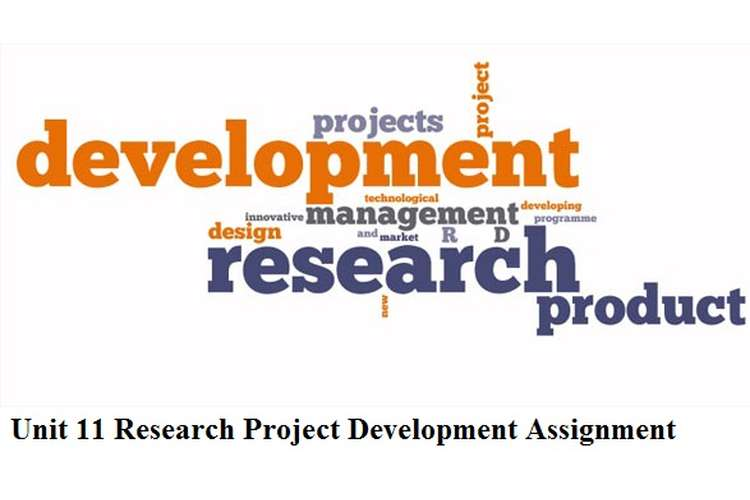 Unit 11 Research Project Development Assignment