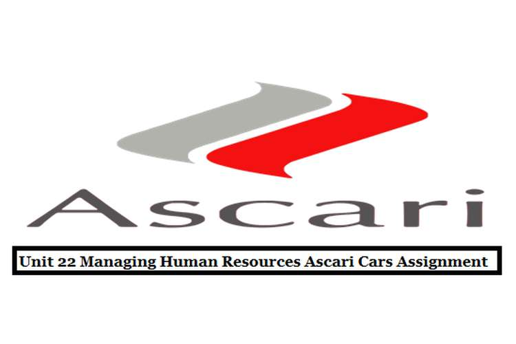 Unit 22 Managing Human Resources Ascari cars Assignment