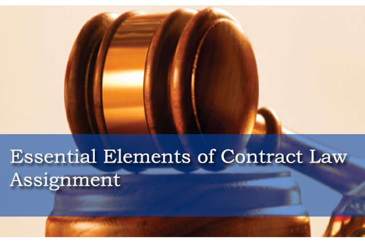 Essential Elements Of Contract Law Assignment  Hnd Help