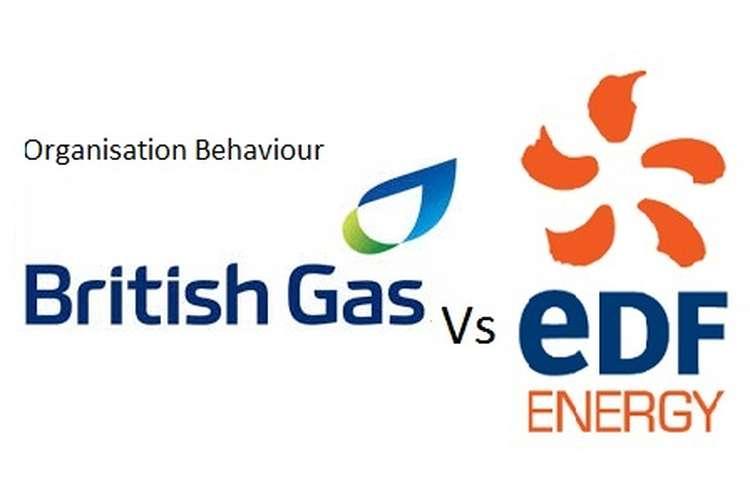 Unit 3 Organisation Behaviour Assignment British Gas & Edf Energy