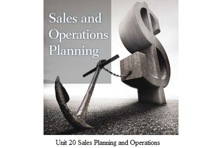 Unit 20 Sales Planning and Operations Assignment - L'Oreal