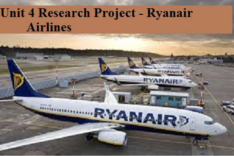 Research Project - Ryanair Airlines