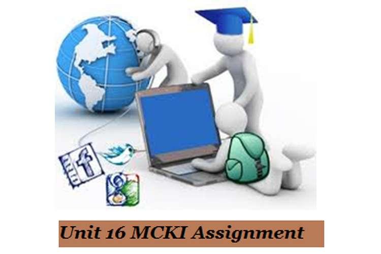 MCKI Assignment