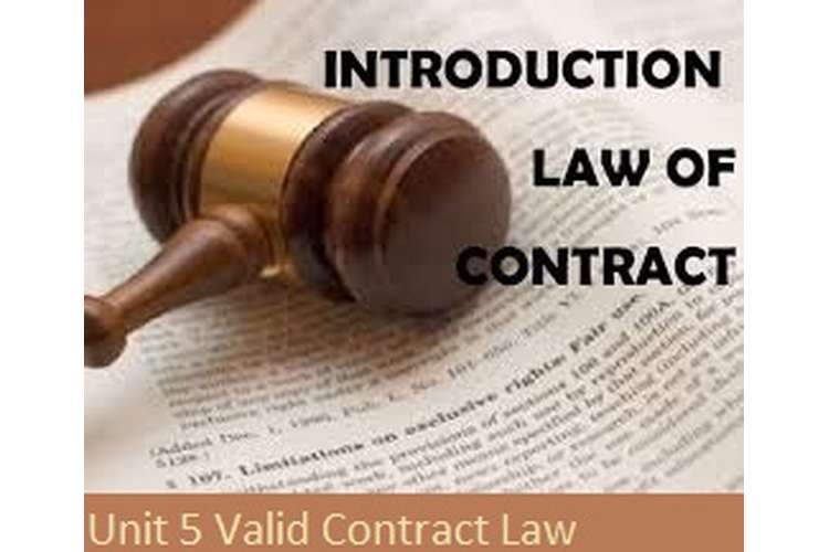 Unit 5 Valid Contract Law Assignment