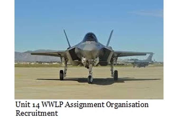 Unit 14 WWLP Assignment Organisation Recruitment