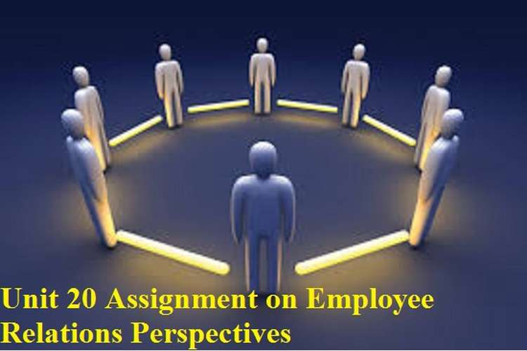 Unit 20 Assignment Employee Relations Perspectives
