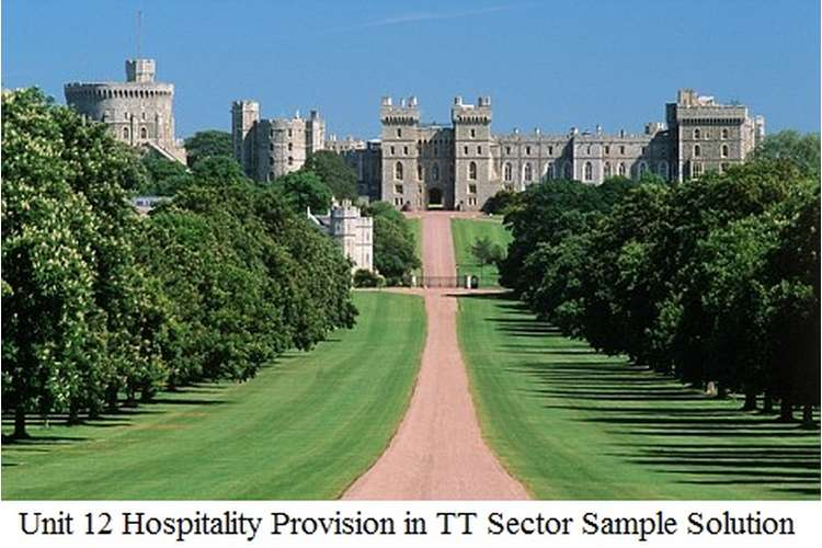 Unit 12 Hospitality Provision in TT Sector Sample Solution