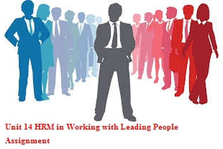 Unit 14 HRM in Working with Leading People Assignment