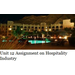 Unit 12 Assignment on Hospitality Industry