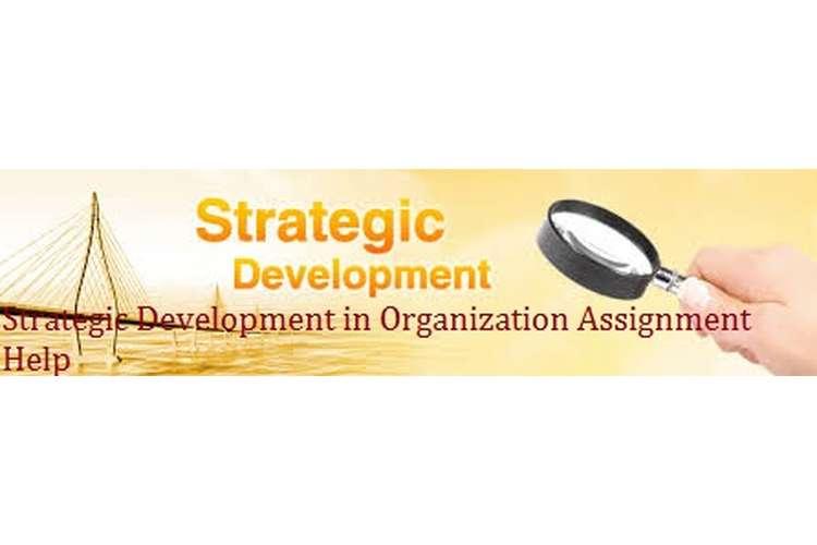 Strategic Development in Organization Assignment Help