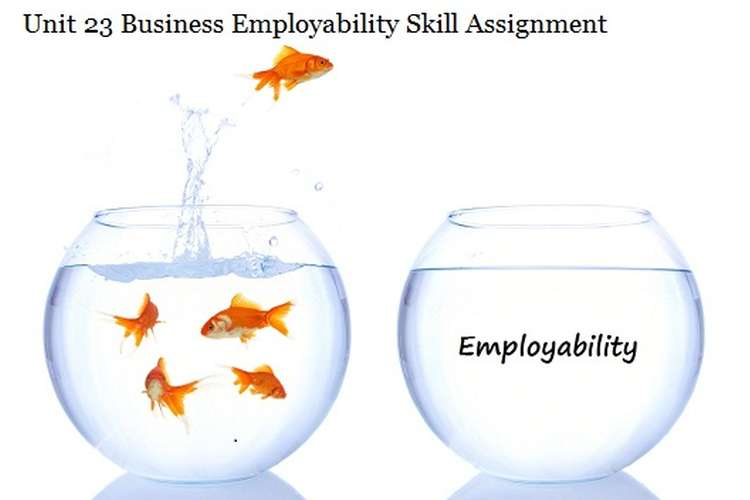 Business Employability Skill Assignment