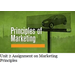 Unit 2 Assignment on Marketing Principles