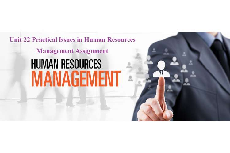 Unit 22 Practical Issues in Human Resources Management Assignment