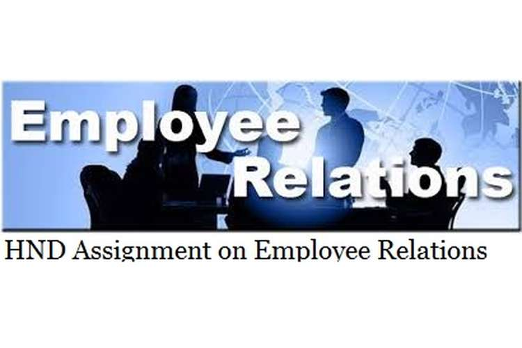 Assignment on Employee Relations