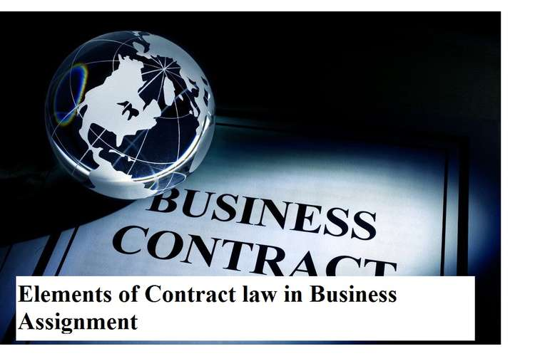 Elements Contract Law Business Assignment