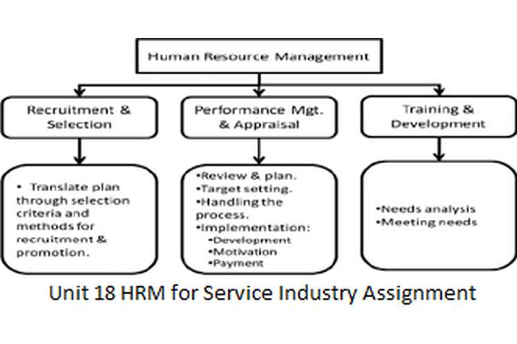 Unit 18 HRM for Service Industry Assignment