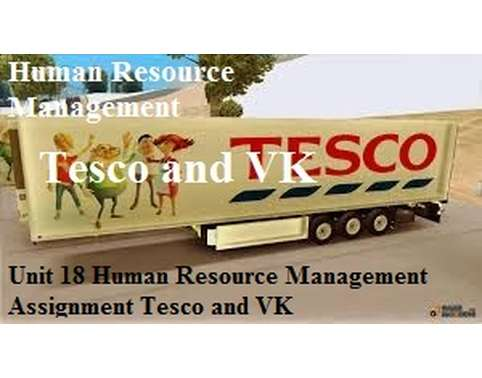 tesco human resource management