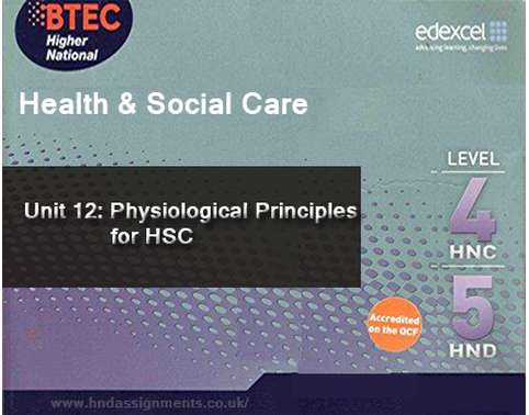 Physiological Principles for HSC